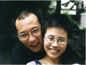 Imprisoned dissident Liu Xiaobo, a main architect of Charter 08, and his wife Liu Xia, who has been living under oppressive house arrest and is reportedly suffering from severe depression.