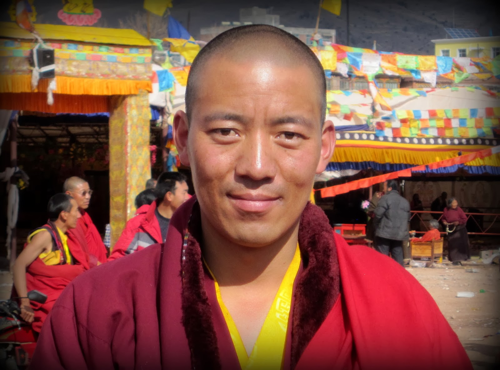 Popular Tibetan monk Karma Tsewang, 38, was detained on December 6, 2013 in Sichuan Province before being taken to the Tibet Autonomous Region.