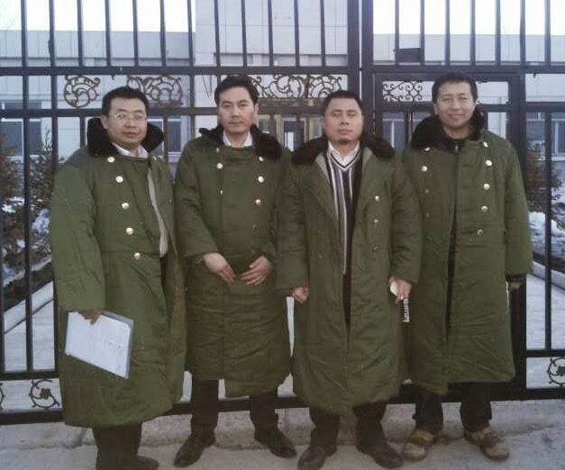 "Four human rights lawyers were recently seized by police for trying to free an individual locked up in a ""black jail"" in Heilongjiang Province."