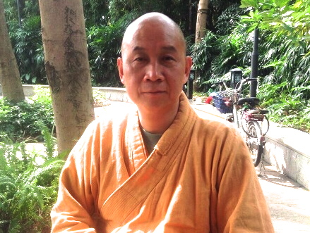 "Sheng Guan (圣观), an activist-turned-Buddhist priest who took part in the 1989 pro-democracy movement, has been criminally detained on suspicion of ""inciting subversion."" (image: jsdd17.jigsy.com"